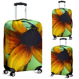 Luggage Cover - Blue Bug Design