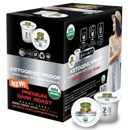 Sollo Dark Roast Ketogenic Proof Coffee Pods For Keurig - weight loss coffee
