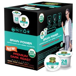 Sollo Dark Roast Brain Power Infused Coffee Pods For Keurig - weight loss coffee