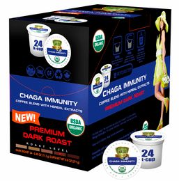 Sollo Dark Roast Chaga Coffee Pods For Keurig - weight loss coffee