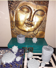 """Aromatherapy """"Inner Peace"""" Soy/beeswax Candle Collection - Intuitive Clarity Candle Boutique"""