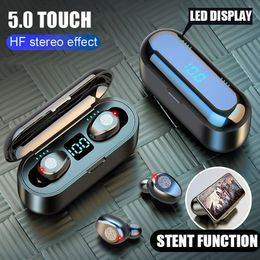 H&A Bluetooth V5.0 Stereo Sport Wireless Earbuds 2000 mAh - Item Lord