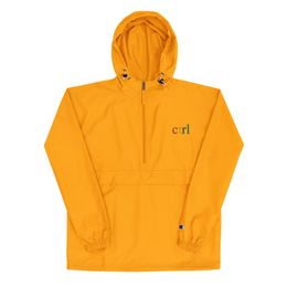 SZA Ctrl Embroidered Champion Packable Jacket - Galaxy Outfitters