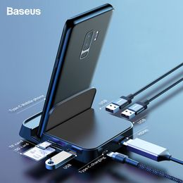 Baseus USB Type C HUB Docking Station For Samsung S10 S9 Dex Pad Station USB-C to HDMI Dock Power Adapter For Huawei P30 P20 Pro - Starttech Online Market