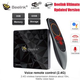 Beelink GT1 Ultimate Android 7.1 TV Box Amlogic S912 Octa Core CPU 3G RAM 32G ROM Bluetooth 4.0 FHD 4K Set Top Box Media Player - Starttech Online Market