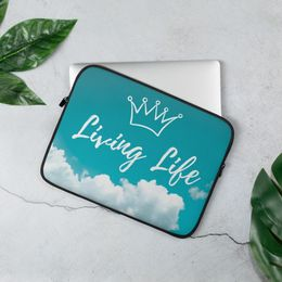 Living Life Laptop Sleeve 13 in,15 in 20.00 GBP