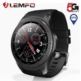 LF25 Smart Watch Android 7.1.1 LTE 4G Sim WIFI 1.3 inches 320*320 tough Screen GPS heart-rate - Dumux