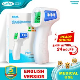 Forehead Thermometer Non Contact Infrared Body Temperature Fever Digital Measure