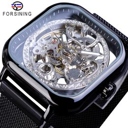 Forsining Square Automatic Business - JX LifeStyle