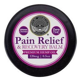 pain relief & recovery balm 120 mg