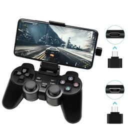 Gamepad controle sem fio Para Android Phone / PC / PS3 / TV Box Joystick 2.4G Joypad - R F Store