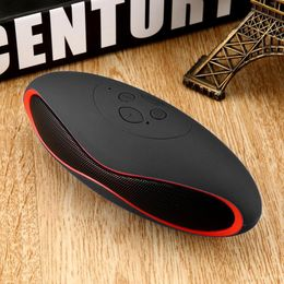 2020 Mini Portable Bluetooth Speaker Crack LED Wireless Column Hands Free Phone Loudspeaker TF USB FM Aux Mic Bass Sound box - GreatLakesSmartpro