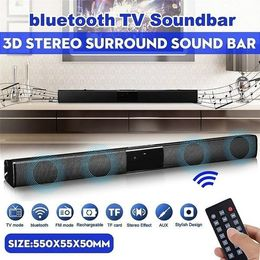 2019 Latest Wireless Bluetooth Soundbar Stereo Speaker TV Home Theater Sound Bar  bluetooth speaker - GreatLakesSmartpro