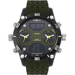 Big Men's Sports Watch Three Time Display LED - Setnom