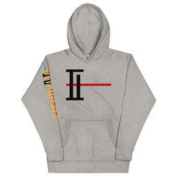 DETROIT Power Hoodie Hoodies The Imperium Brand Carbon Grey S