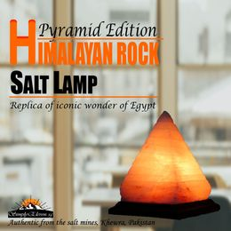 Authentic Pyramid Himalayan Salt Lamp  - SimplyEleven Singapore