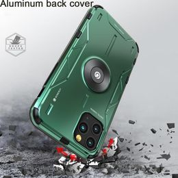 Metal Aluminum Armor Case for iPhone 11 case For iPhone XS XR 11 Pro Max Phone Case Cover Shockproof - eshop24.net