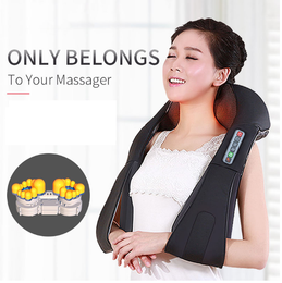 U Shape Shiatsu Massager with 4D Kneading massage