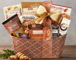 The Gourmet Choice Gift Basket by Wine Country Gift Baskets - Shamrock Online