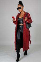 Dark Horse Faux Leather Coat - Forever Fall