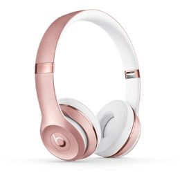 Beats MNET2LL/A Solo3 Wireless On-Ear Headphones - Rose Gold, Refurbished