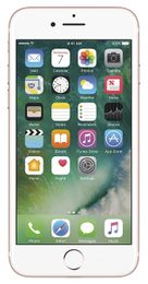 Apple iPhone 7, GSM Unlocked 4G LTE- Rose Gold, 128GB (Used, Good Condition)