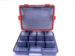 OutDare Transparent Tackle Box,Waterproof Bait Box,Fishing Accessories Storage Box - the OutDare
