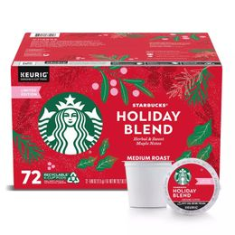 Starbucks Holiday Blend K-Cups, Medium Roast (72 ct.)