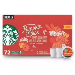 Starbucks Coffee K-Cups, Pumpkin Spice (72 ct.) Limited Time Only!