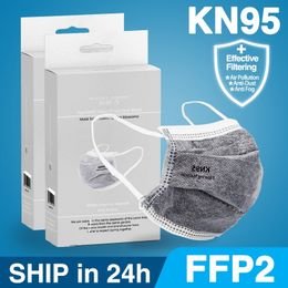 20-100pcs ffp2 mask KN95 Face Mask filter Dustproof Anti-fog. - ShopInSafety