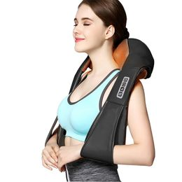 Back Neck Shoulder Massager U Shape Electrical Shiatsu - comfortrelax