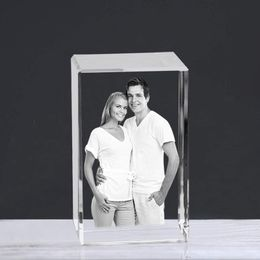Personalized 2D/3D Laser Engraved Crystal Photo Perfect for All Special Ocassions - Abellus