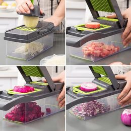 kezzace Accessories Multifunctional Vegetable Cutter Home Kitchen Slicing And Dicing Fruit Artifact