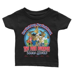 The Five Burros of New York©-Logo-Infant Tee - The Five Burros of New York