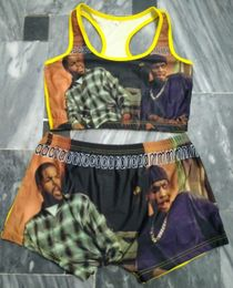 """""""Friday"""" Movie Theme Printed Sleepwear Snack Candy Booty Shorts & Tube Top Set - S&E Retail Expo"""