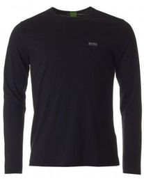 Hugo Boss Polo Mens Crew Neck Long Sleeve T shirt - Toplen