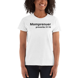 Mommprenuer: proverbs 31:16 Ladies Shirt - MHNInc Store